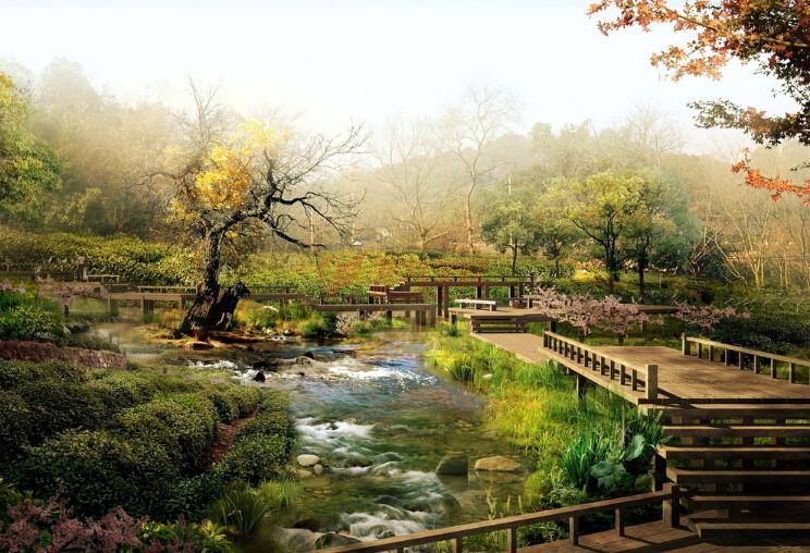 动物和植物的生长条件,为生物多样性创造( 上海景观设计培训)必须的